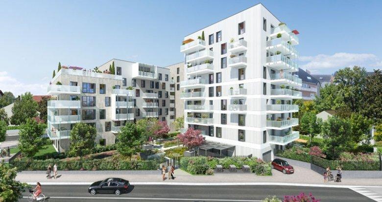 Achat / Vente immobilier neuf Ambilly quartier de la croix (74100) - Réf. 629