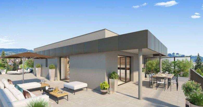Achat / Vente immobilier neuf Ambilly sur les berges du Foron (74100) - Réf. 4323