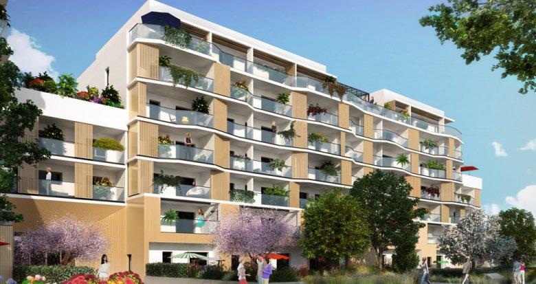 Achat / Vente immobilier neuf Annecy au coeur de l'Ecoquartier Vallin Fier (74000) - Réf. 1134