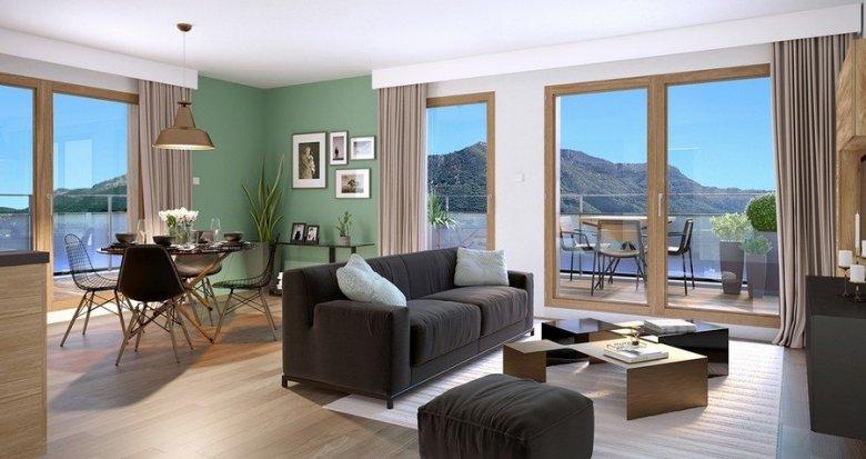 achat immobilier neuf annecy quartier parmelan 74000 r f 2028. Black Bedroom Furniture Sets. Home Design Ideas