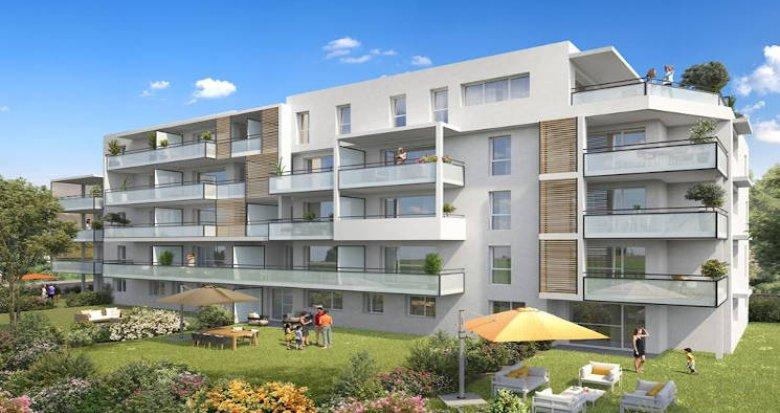 Achat / Vente immobilier neuf Annemasse proche gare et commerces (74100) - Réf. 3676