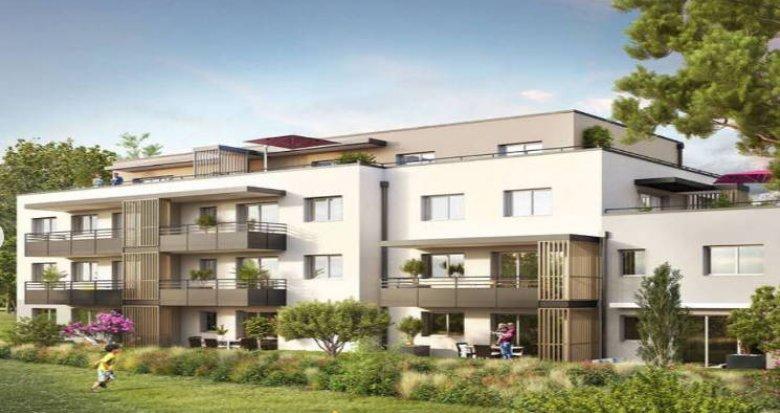 Achat / Vente immobilier neuf Ayse à 250m de la gare Léman Express (74130) - Réf. 5375