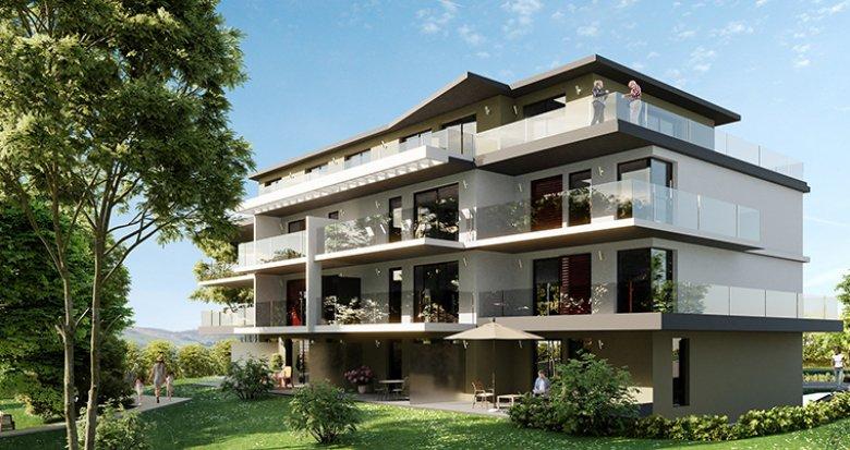 Achat / Vente immobilier neuf Bourget du lac proche des commerces (73370) - Réf. 2697