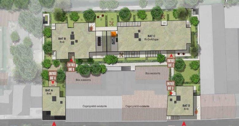 Achat / Vente immobilier neuf Chambéry cœur de ville proche transports (73000) - Réf. 4445