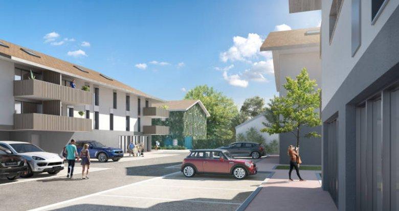 Achat / Vente immobilier neuf Chens-sur-Léman proche centre et lac (74140) - Réf. 4519