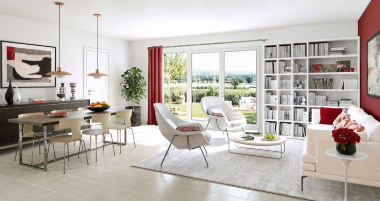 Achat / Vente immobilier neuf Chevrier au pied du Salève (74520) - Réf. 1378