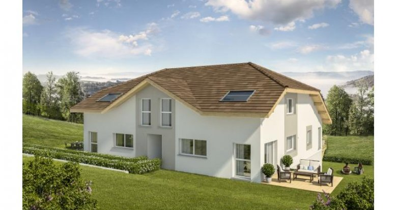 Achat / Vente immobilier neuf Chilly Centre du village de Sillingy (74270) - Réf. 1082