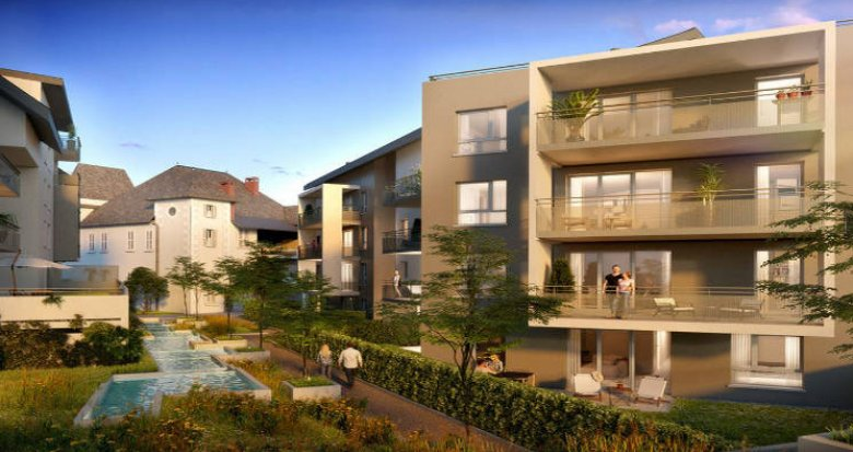 Achat / Vente immobilier neuf Cognin proche centre-ville (73160) - Réf. 3678