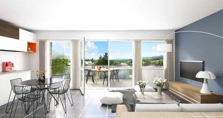 Achat / Vente immobilier neuf Copponex proche Genève (74350) - Réf. 1424