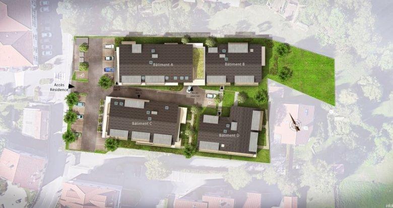 Achat / Vente immobilier neuf Cranves-Sales entre calme et commodités (74380) - Réf. 1385