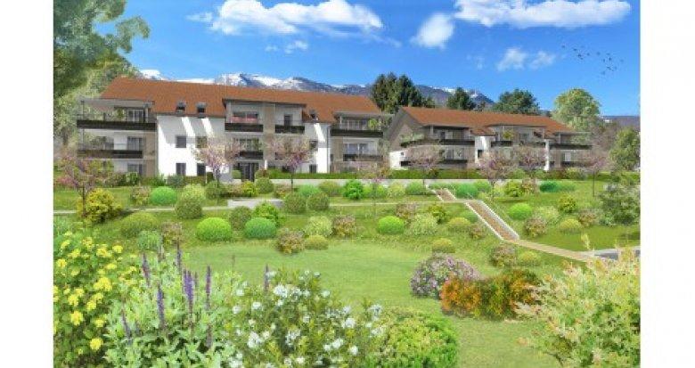 Achat / Vente immobilier neuf Crozet proche commerce de St Genis Pouilly (01170) - Réf. 2372