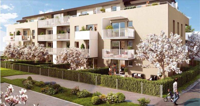 Achat / Vente immobilier neuf Cruseilles proche centre bourg (74350) - Réf. 3028