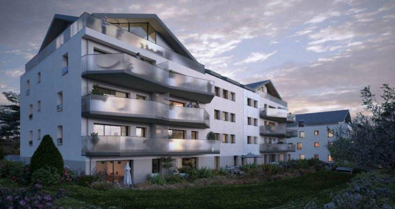 Achat / Vente immobilier neuf Divonne-les-Bains à deux pas du bus (01220) - Réf. 4769