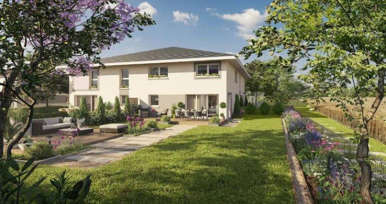 Achat / Vente immobilier neuf Douvaine au cœur de la ville proche lac (74140) - Réf. 4494