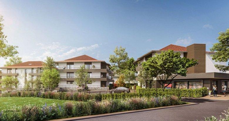 Achat / Vente immobilier neuf Echenevex proche centre (01170) - Réf. 5545