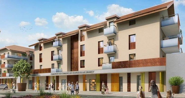 Achat / Vente immobilier neuf Faverges 12 minutes d'Annecy (74210) - Réf. 1793