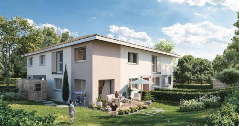 Achat / Vente immobilier neuf Faverges secteur calme 2 km du centre (74210) - Réf. 4705