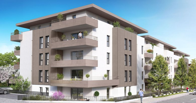 Achat / Vente immobilier neuf la roche centre (74800) - Réf. 1425