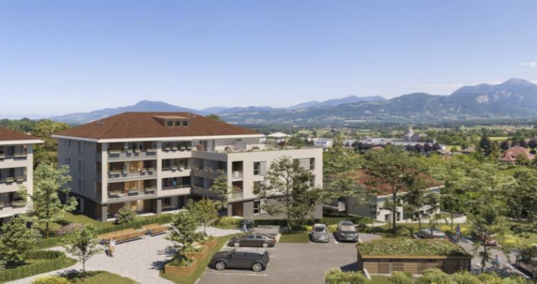 Achat / Vente immobilier neuf La Roche-sur-Foron au cœur des montagnes de Haute-Savoie (74800) - Réf. 5388