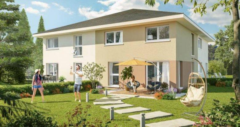 Achat / Vente immobilier neuf Marcellaz-en-Faucigny proche commodités (74250) - Réf. 4419