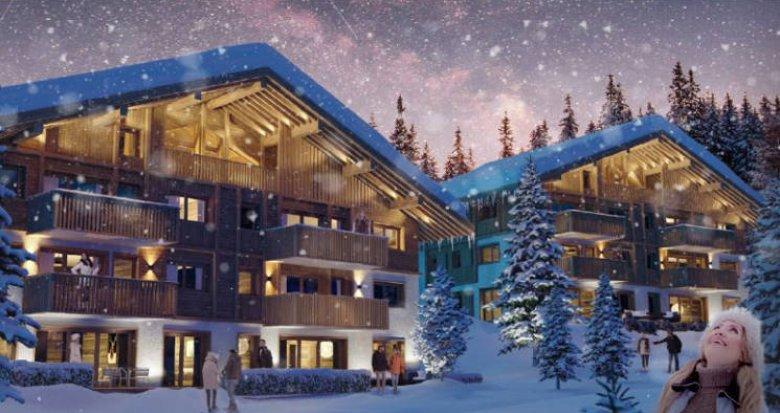 Achat / Vente immobilier neuf Megève au cœur des montagnes savoyardes (74120) - Réf. 4416