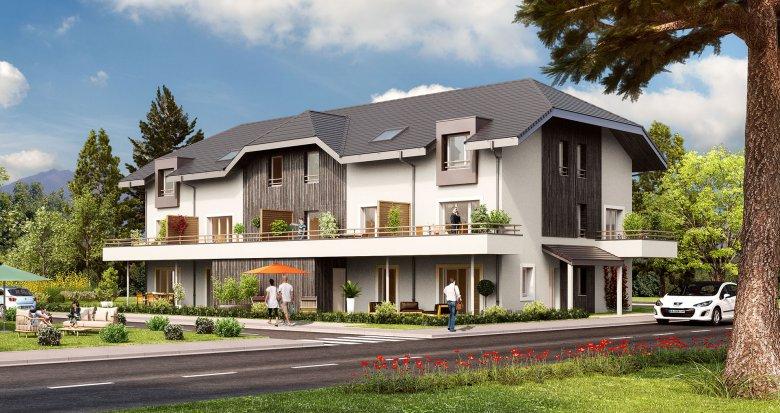 Achat / Vente immobilier neuf Mercury proche Mairie (73200) - Réf. 169