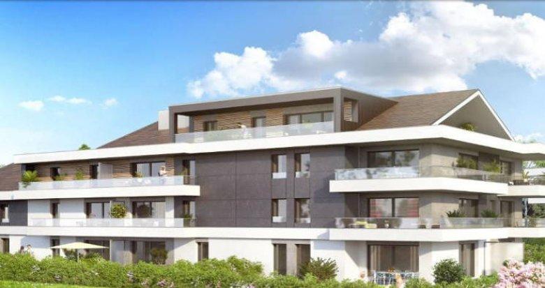 Achat / Vente immobilier neuf Messery proche Lac Léman (74140) - Réf. 2926