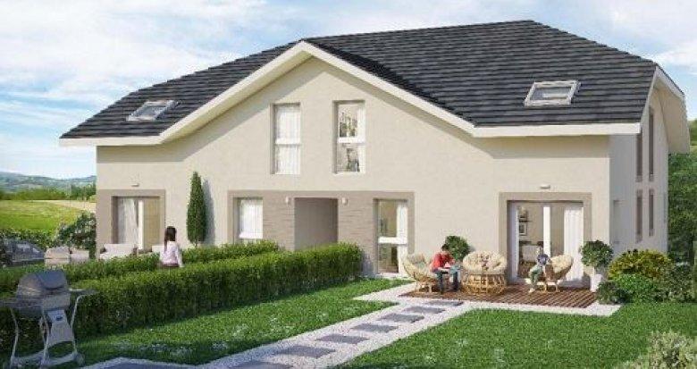 Achat / Vente immobilier neuf Moye commune contiguë de Rumilly (74150) - Réf. 1084