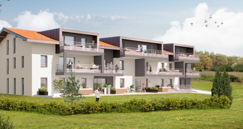 Achat / Vente immobilier neuf Neydens à proximité de Genève (74160) - Réf. 4660