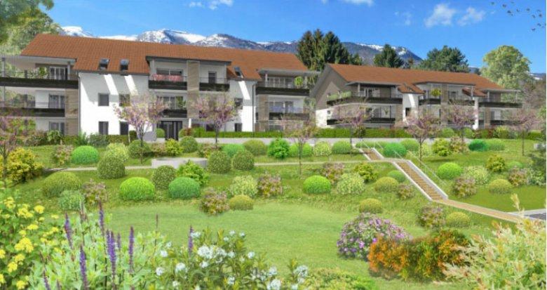 Achat / Vente immobilier neuf Panorama sur le Mont Blanc (01710) - Réf. 368