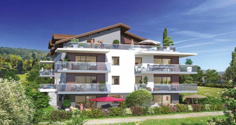 Achat / Vente immobilier neuf Publier à 10 minutes du centre-village (74500) - Réf. 3737