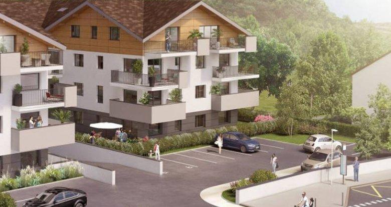 Achat / Vente immobilier neuf Publier proche Lac Léman (74500) - Réf. 4784