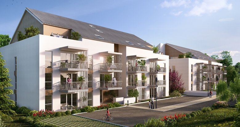 Achat / Vente immobilier neuf Rumilly proche gare TER (74150) - Réf. 897
