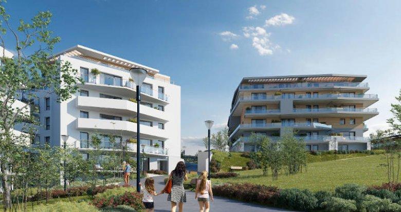 Achat / Vente immobilier neuf Saint-Genis-Pouilly proches écoles et commerces (01630) - Réf. 4227