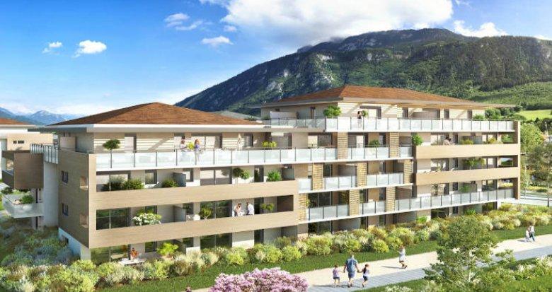 Achat / Vente immobilier neuf Saint-Pierre-en-Faucigny au pied des bus (74800) - Réf. 4706