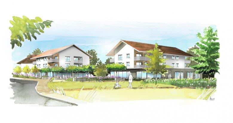 Achat / Vente immobilier neuf Sales en plein centre du village (74150) - Réf. 5247