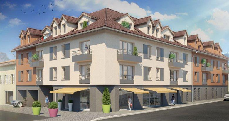 Achat / Vente immobilier neuf Sallanches à 15 minutes de Megève (74700) - Réf. 2183