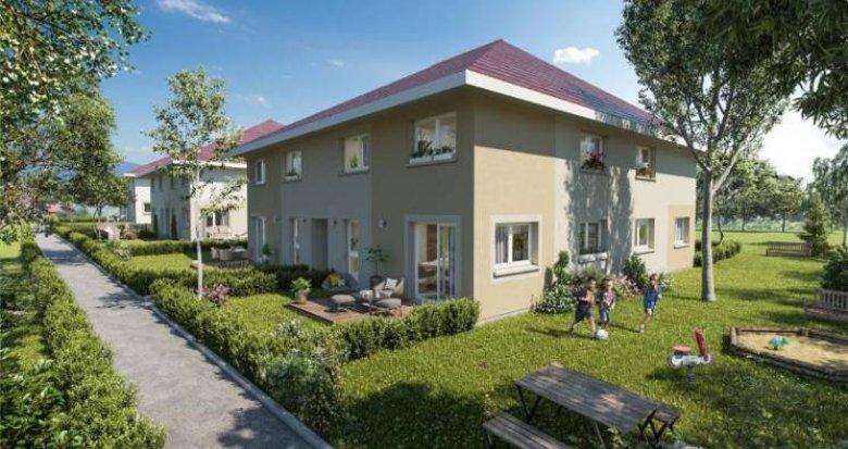 Achat / Vente immobilier neuf Sallenôves proche cœur de ville (74270) - Réf. 4934