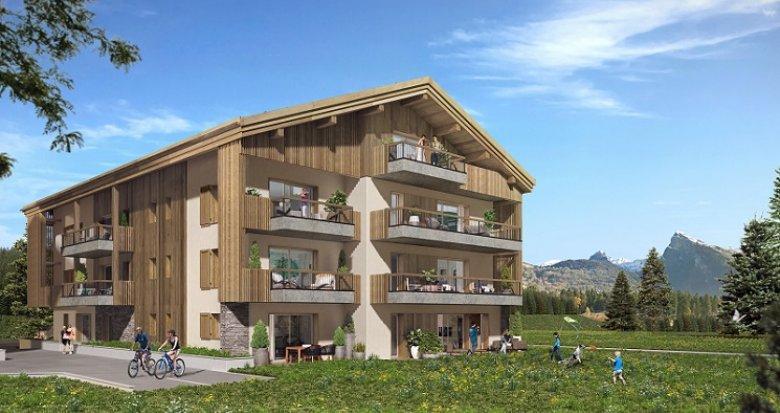 Achat / Vente immobilier neuf Samoëns Etteley (74340) - Réf. 5061