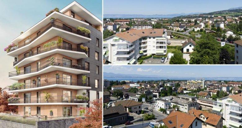 Achat / Vente immobilier neuf Thonon-les-Bains proche lac Léman (74200) - Réf. 1775