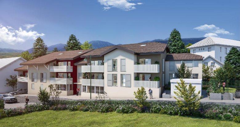 Achat / Vente immobilier neuf Thonon-les-Bains proche port (74200) - Réf. 5902