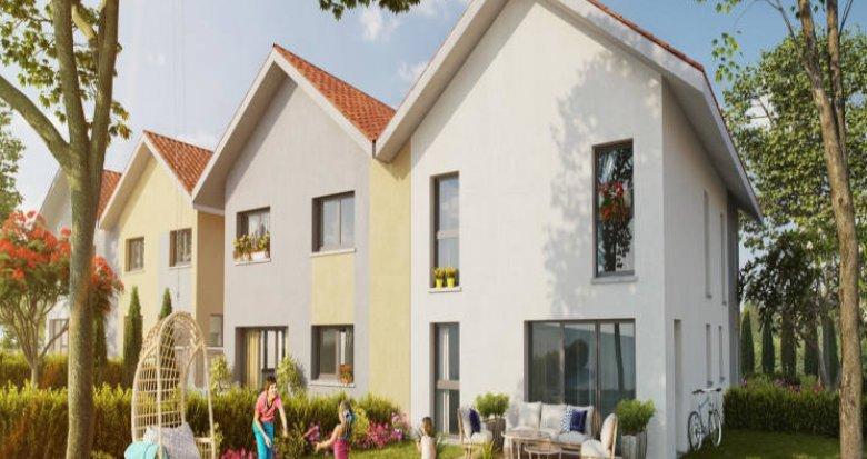Achat / Vente immobilier neuf Valleiry au coeur du village (74520) - Réf. 2908