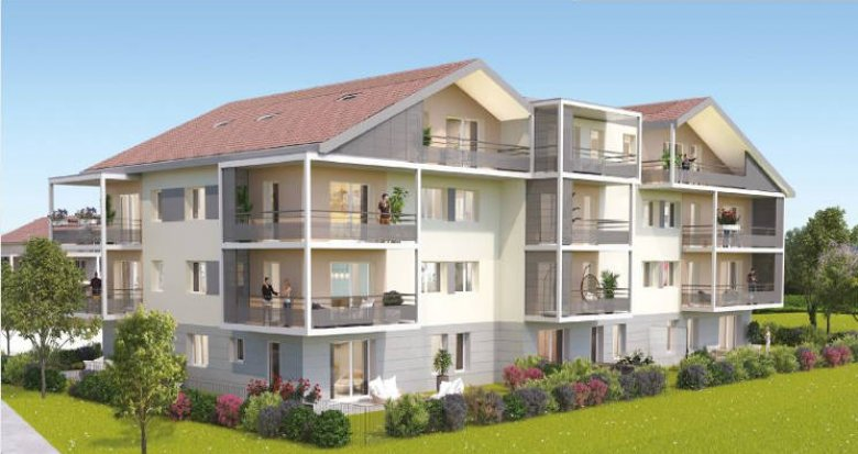 Achat / Vente immobilier neuf Valleiry proche centre-ville (74520) - Réf. 3523