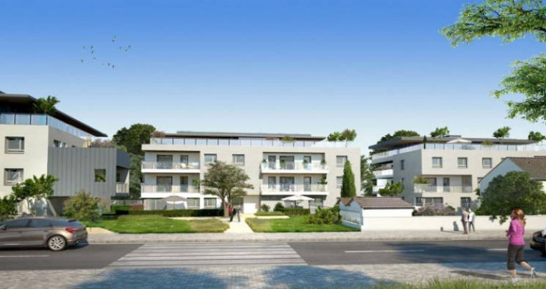 Achat / Vente immobilier neuf Veigy-Foncenex proche centre (74140) - Réf. 4508