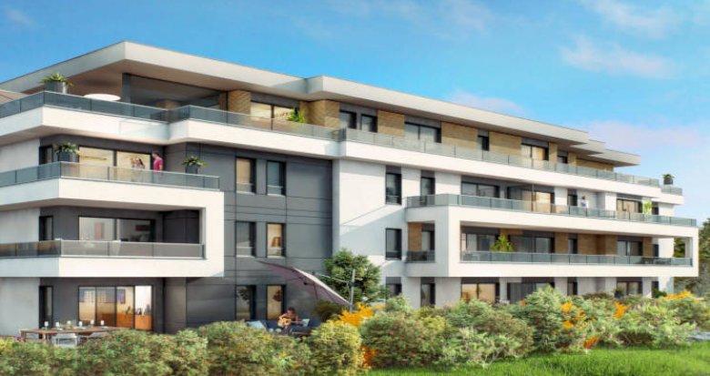 Achat / Vente immobilier neuf Vétraz-Monthoux proche frontière suisse (74100) - Réf. 4096