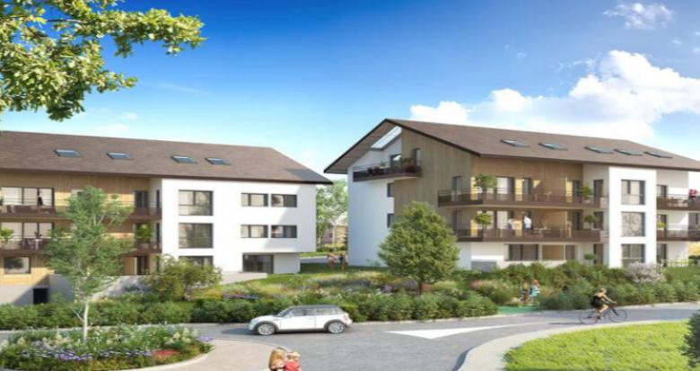 Achat / Vente immobilier neuf Vulbens au cœur du bassin genevois (74520) - Réf. 5010