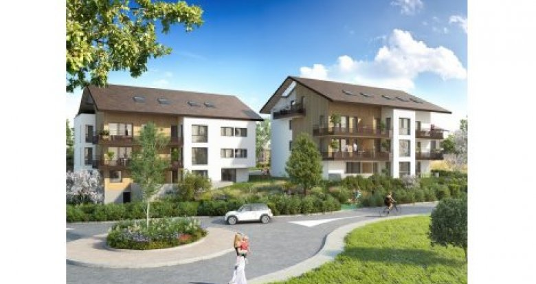 Achat / Vente immobilier neuf Vulbens aux portes de la Suisse (74520) - Réf. 3520